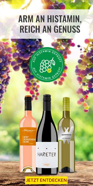 Histaminfreier Wein