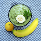 Smoothie mit Avocado & Minze