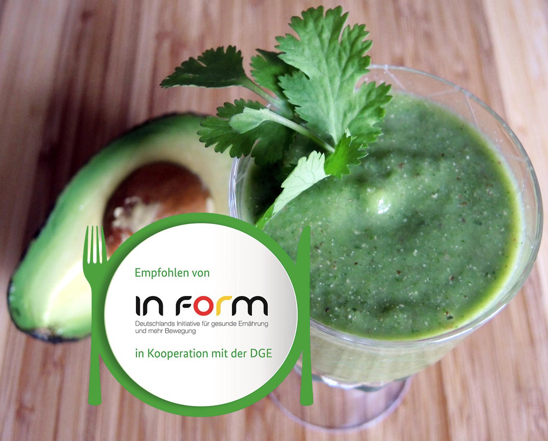 Grüne Smoothies für die Ernährung