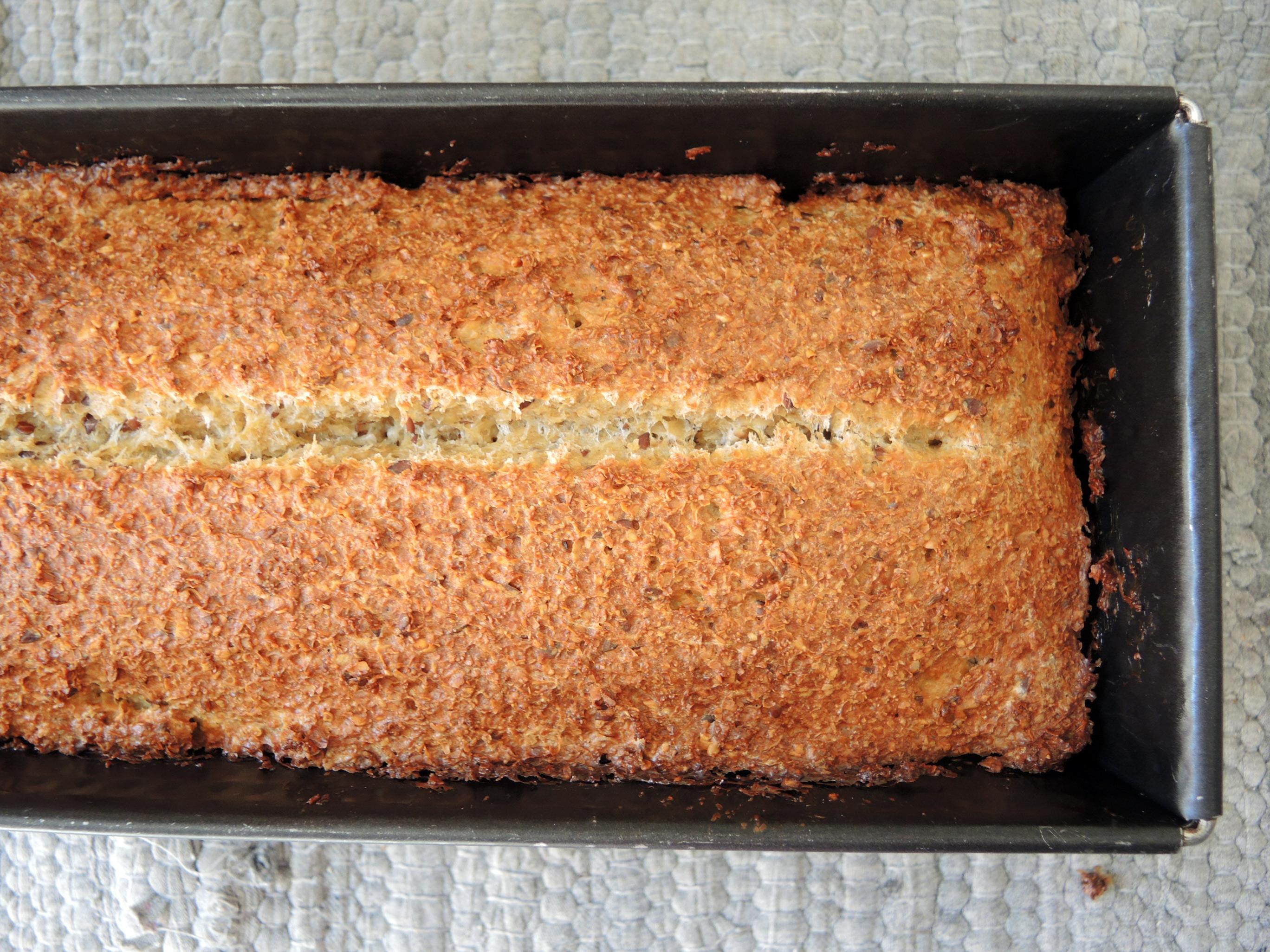 Haferkleie Brot ohne Hefe