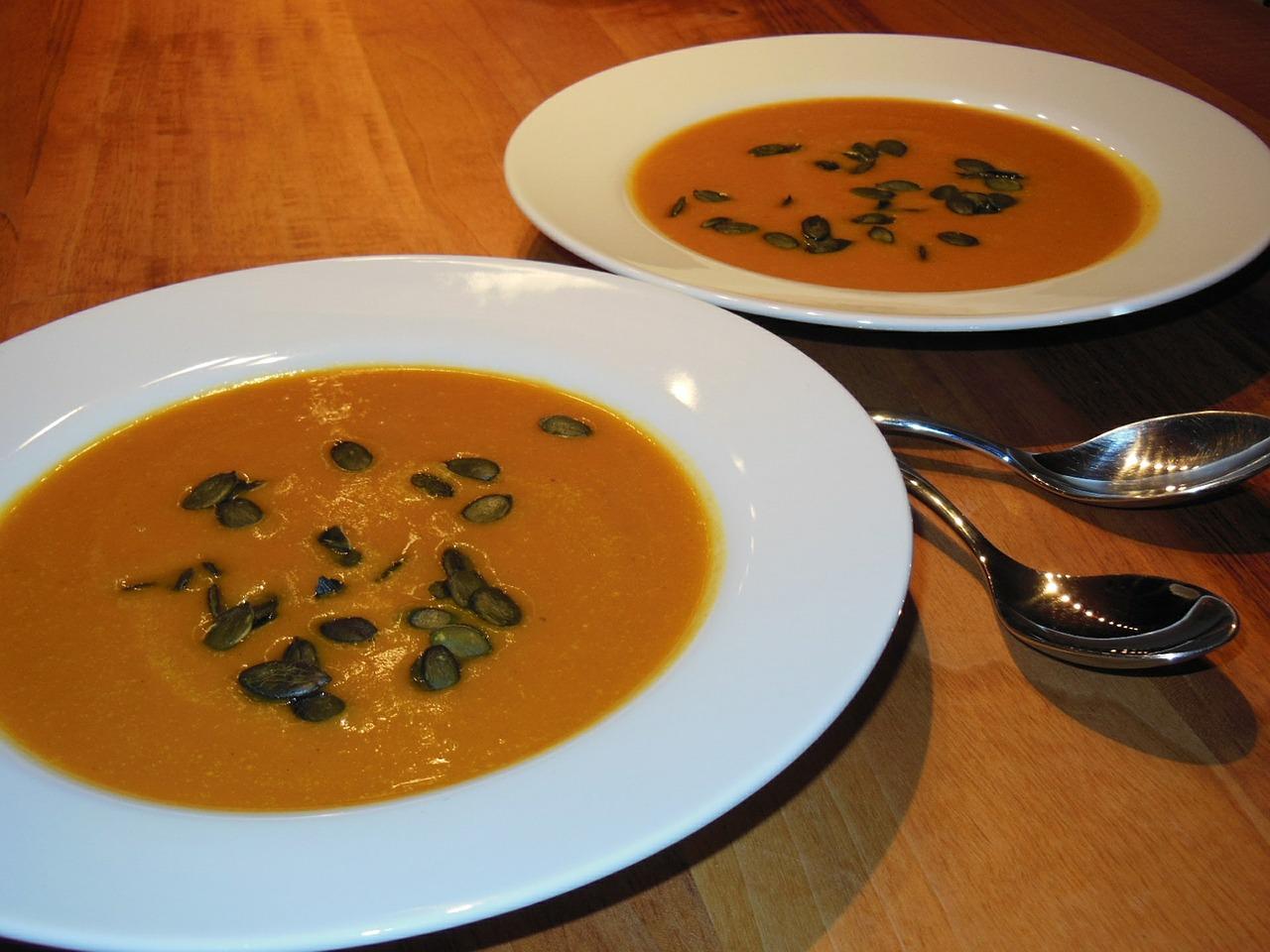 rezept kürbissuppe mit kokosmilch