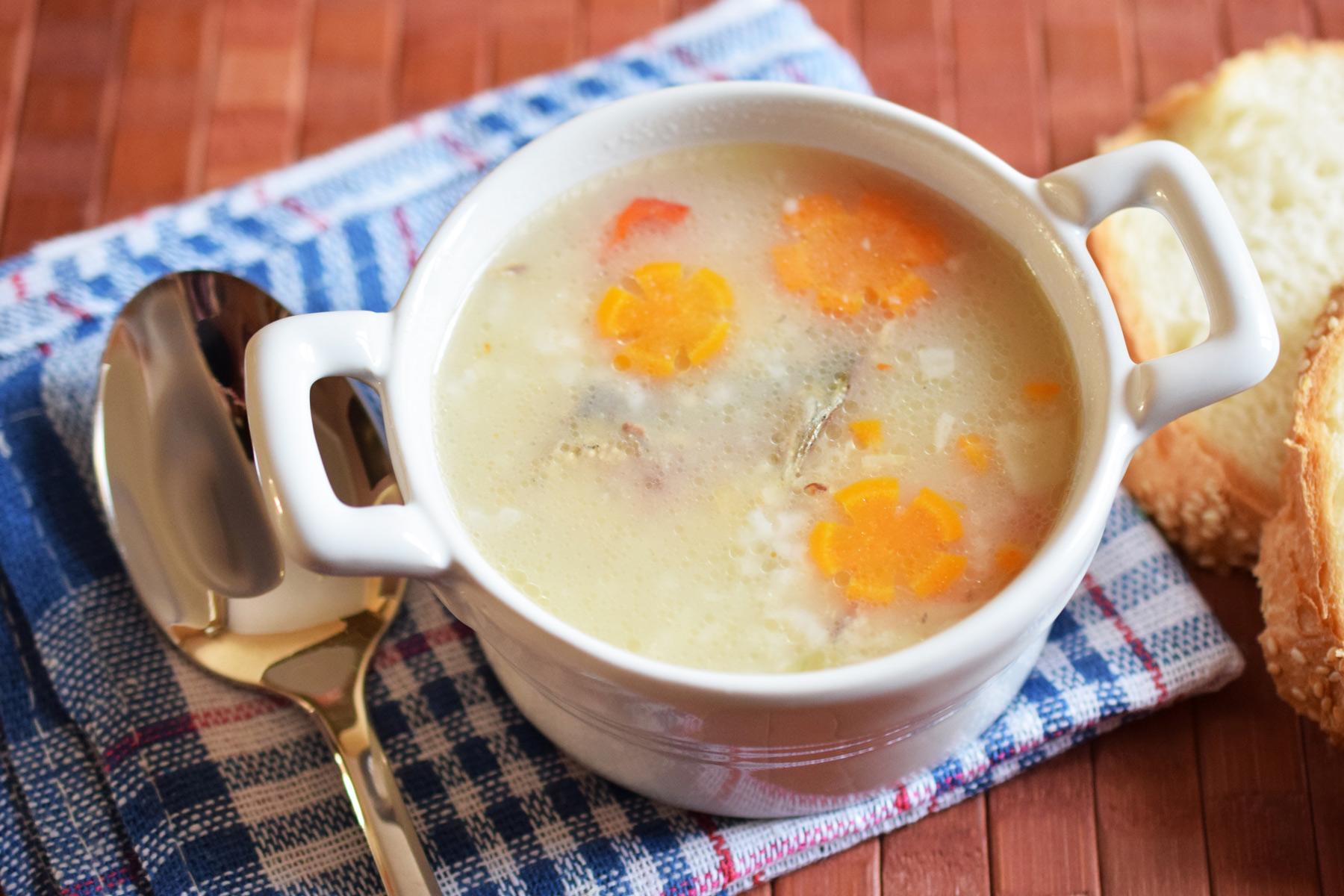Schonkost-Reissuppe - Rezept | kochenOHNE